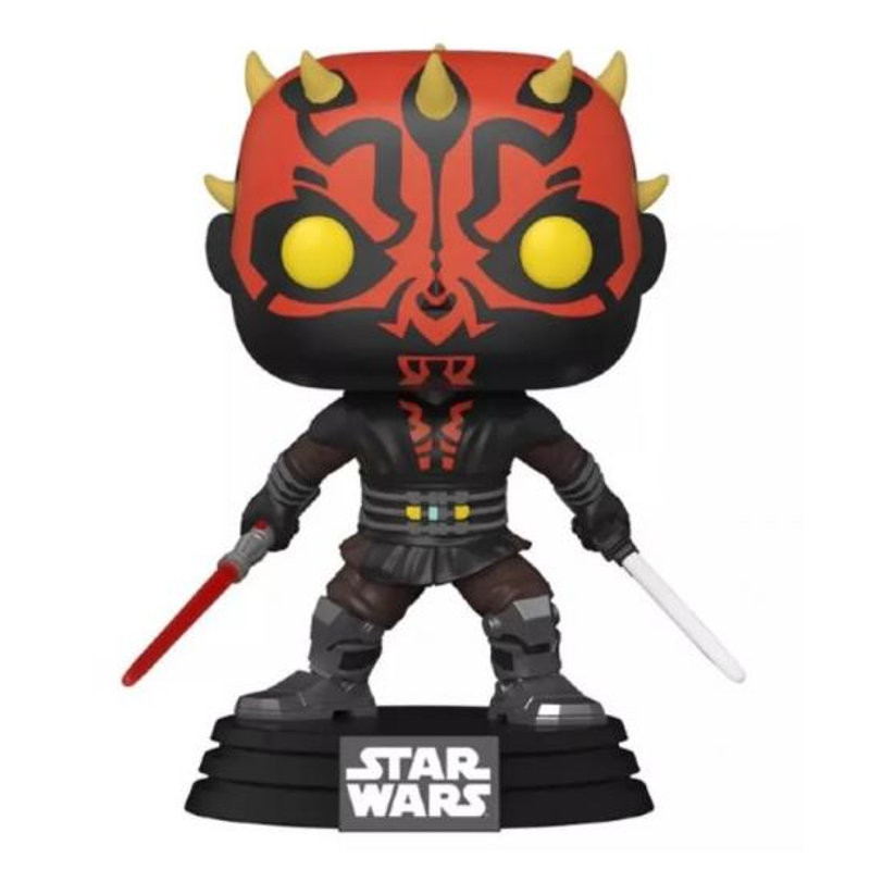 DARTH MAUL WITH SABER / STAR WARS / FIGURINE FUNKO POP / EXCLUSIVE SPECIAL EDITION