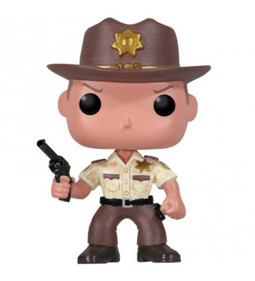 RICK GRIMES / THE WALKING DEAD / FIGURINE FUNKO POP / BOITE ABIMÉE