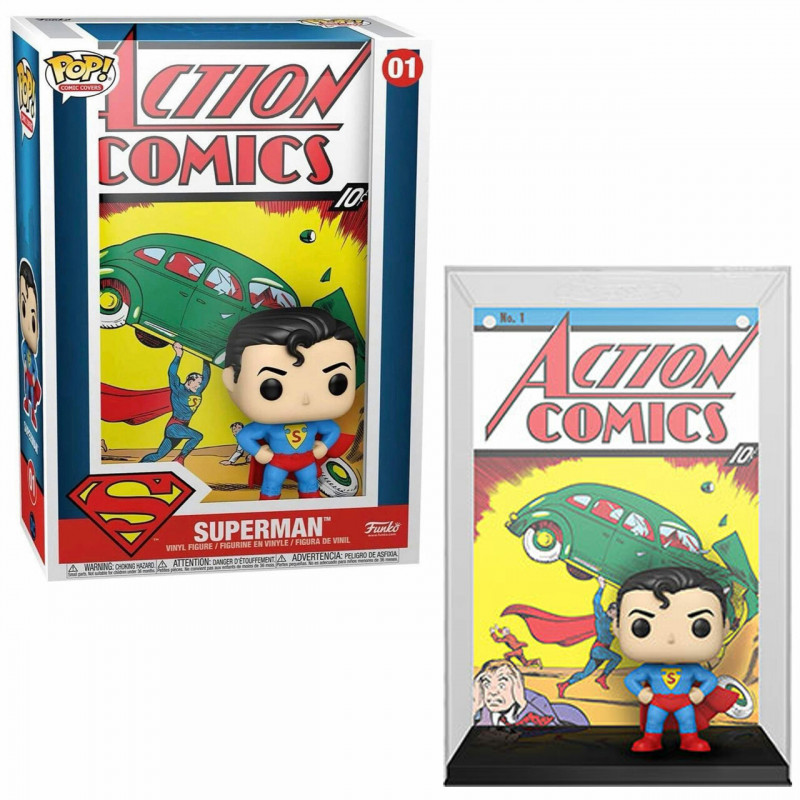 SUPERMAN / ACTION COMICS / FIGURINE FUNKO POP