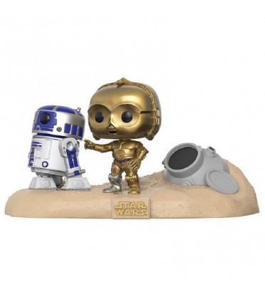 ATTERRISSAGE NAVETTE DE SECOURS / STAR WARS MOVIE MOMENTS / FIGURINE FUNKO POP / BOITE ABIMÉE