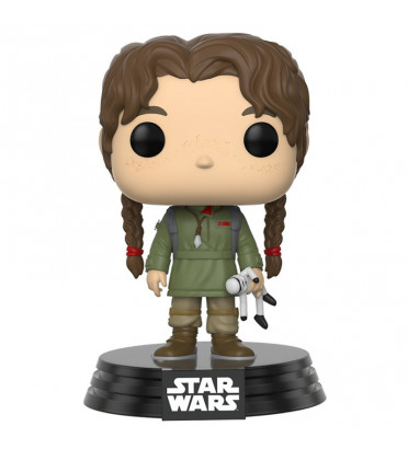 JYN ERSO JEUNE / STAR WARS / FIGURINE FUNKO POP