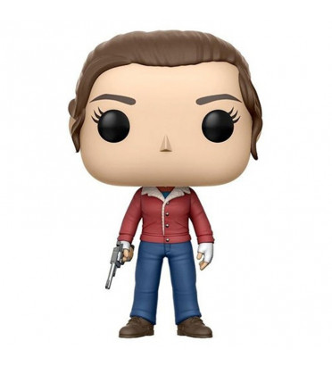 NANCY AVEC PISTOLET / STRANGER THINGS / FIGURINE FUNKO POP
