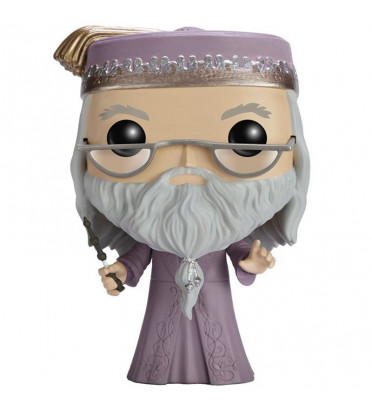 ALBUS DUMBLEDORE AVEC BAGUETTE / HARRY POTTER / FIGURINE FUNKO POP