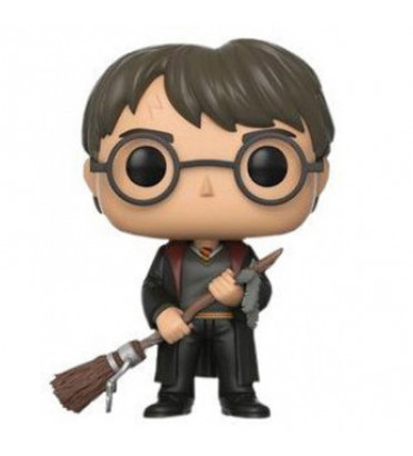 HARRY POTTER AVEC FIREBOLT / HARRY POTTER / FIGURINE FUNKO POP / EXCLUSIVE SPECIAL EDITION