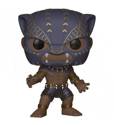 BLACK PANTHER WARRIORS FALL / BLACK PANTHER / FIGURINE FUNKO POP