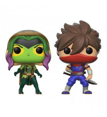 GAMORA VS STRIDER / MARVEL VS CAPCOM / FIGURINE FUNKO POP