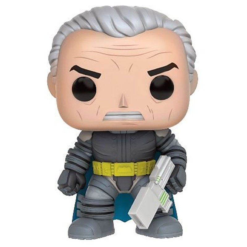 BATMAN EN ARMURE / BATMAN / FIGURINE FUNKO POP / BOITE ABIMEE
