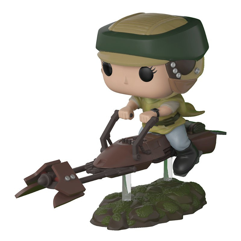 PRINCESSE LEIA AVEC SPEEDER / STAR WARS / FIGURINE FUNKO POP