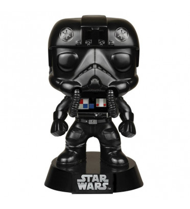 TIE FIGHTER PILOT / STAR WARS / FIGURINE FUNKO POP / BOITE ABIMÉE