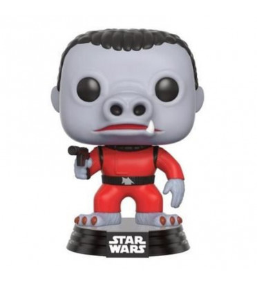 SNAGGLETOOTH ROUGE / STAR WARS / FIGURINE FUNKO POP / SMUGGLER'S BOUNTY EXCLUSIVE