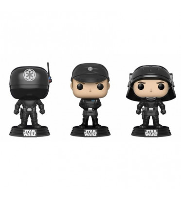 3-PACK GUNNER, OFFICER, TROOPER / STAR WARS / FIGURINE FUNKO POP