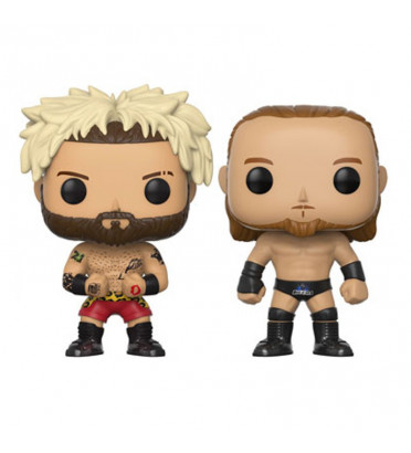 2-PACK ENZO AMORE ET BIG CASS / WWE /FIGURINE FUNKO POP / EXCLUSIVE