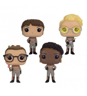 PACK DE 4 FIGURINES / GHOSTBUSTER / FIGURINE FUNKO POP