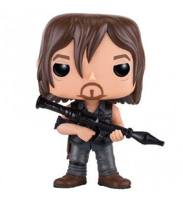 DARYL DIXON AVEC LANCE ROQUETTE / THE WALKING DEAD / FIGURINE FUNKO POP