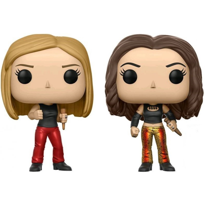 2-PACK BUFFY ET FAITH / BUFFY CONTRE LES VAMPIRES / FIGURINE FUNKO POP / EXCLUSIVE NYCC 2017
