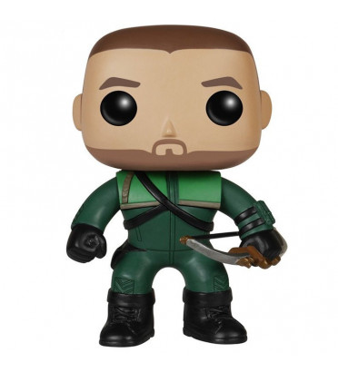 OLIVER QUEEN / ARROW / FIGURINE FUNKO POP / BOITE ABIMÉE