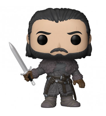 JON SNOW BEYOND THE WALL / GAME OF THRONES / FIGURINE FUNKO POP