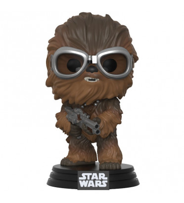 CHEWBACCA AVEC LUNETTE / STAR WARS / FIGURINE FUNKO POP
