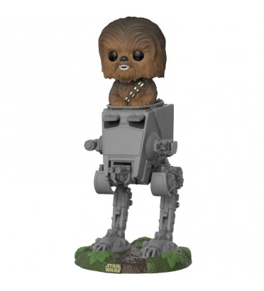 CHEWBACCA AVEC AT-ST / STAR WARS / FIGURINE FUNKO POP