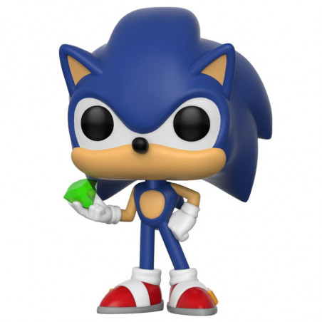SONIC WITH EMERALD / SONIC / FIGURINE FUNKO POP