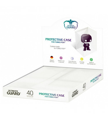 ULTIMATE GUARD BOITE DE PROTECTION PACK DE 40 / FIGURINE FUNKO POP