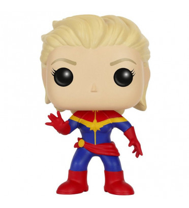 CAPTAIN MARVEL UNMASKED / MARVEL / FIGURINE FUNKO POP