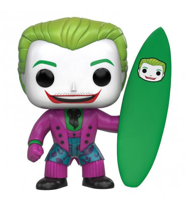 SURFS UP! THE JOKER / BATMAN / FIGURINE FUNKO POP