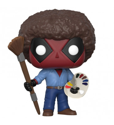 DEADPOOL AS BOB ROSS / DEADPOOL / FIGURINE FUNKO POP