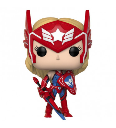 SHARON ROGERS / MARVEL FUTURE FIGHT / FIGURINE FUNKO POP