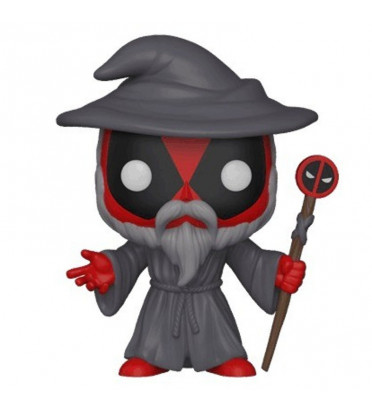 WIZARD DEADPOOL / DEADPOOL / FIGURINE FUNKO POP
