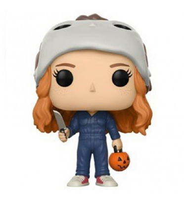 MAX COSTUME / STRANGER THINGS / FIGURINE FUNKO POP / EXCLUSIVE / BOITE ABIMEE