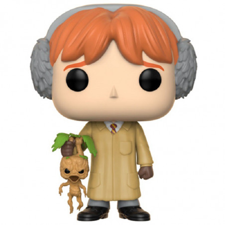 RON WEASLEY HERBOLOGY / HARRY POTTER / FIGURINE FUNKO POP