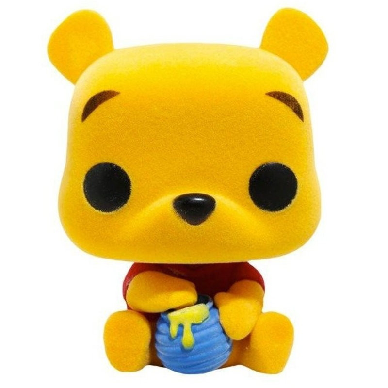 WINNIE / WINNIE L'OURSON / FIGURINE FUNKO POP / FLOCKED / EXCLUSIVE