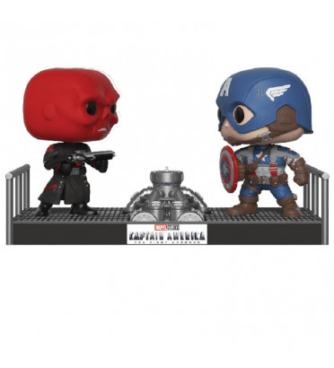RED SKULL VS CAPTAIN AMERICA / CAPTAIN AMERICA / FIGURINE FUNKO POP