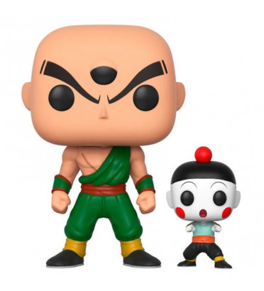 TIEN ET CHIAOTZU / DRAGON BALL Z / FIGURINE FUNKO POP