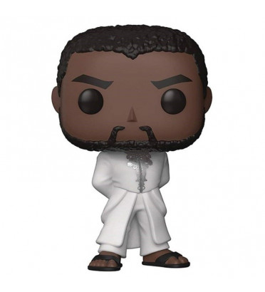 T'CHALLA ROBE BLANCHE / BLACK PANTHER / FIGURINE FUNKO POP