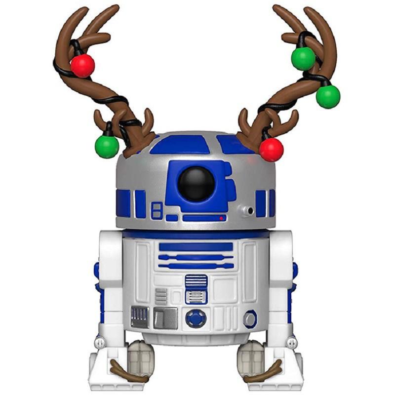 HOLIDAY R2-D2 / STAR WARS / FIGURINE FUNKO POP