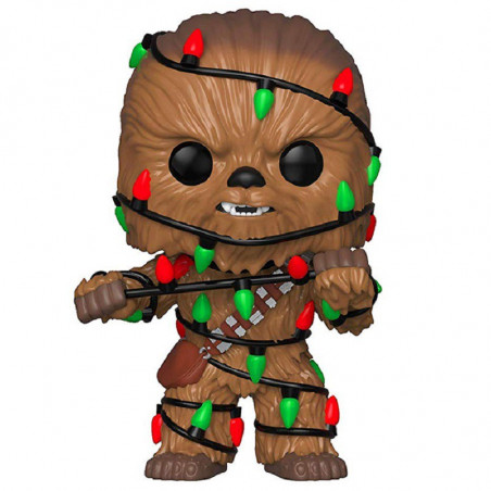 HOLIDAY CHEWBACCA / STAR WARS / FIGURINE FUNKO POP