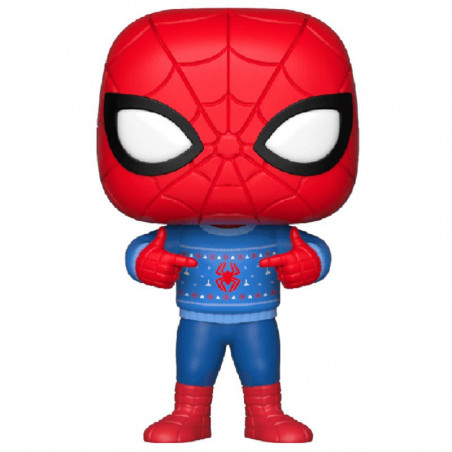 HOLIDAY SPIDERMAN / SPIDERMAN / FIGURINE FUNKO POP