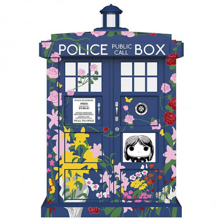 TARDIS CLARA MEMORIAL / DOCTOR WHO / FIGURINE FUNKO POP