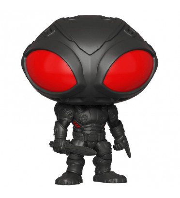 BLACK MANTA / AQUAMAN / FIGURINE FUNKO POP / BOITE ABIMÉE