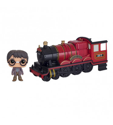 HOGWARTS EXPRESS ENGINE WITH HARRY POTTER / HARRY POTTER / FIGURINE FUNKO POP