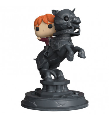 RON WEASLEY RIDDING CHESS PIECE / HARRY POTTER MOVIE MOMENTS / FIGURINE FUNKO POP