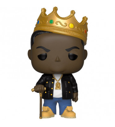NOTORIOUS BIG WITH CROWN / NOTORIOUS BIG / FIGURINE FUNKO POP