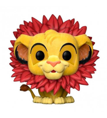 SIMBA / LE ROI LION / FIGURINE FUNKO POP / FLOCKED / EXCLUSIVE