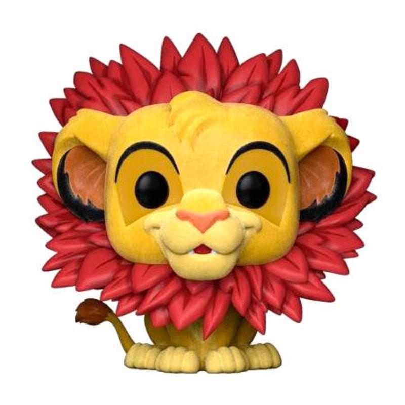 SIMBA / LE ROI LION / FIGURINE FUNKO POP / FLOCKED / EXCLUSIVE