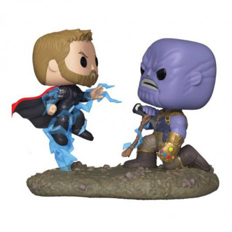 THOR VS THANOS MOVIE MOMENTS / AVENGERS INFINITY WARS / FIGURINE FUNKO POP