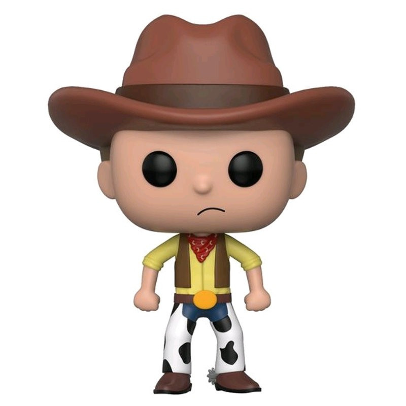 WESTERN MORTY / RICK ET MORTY / FIGURINE FUNKO POP / SDCC 2018