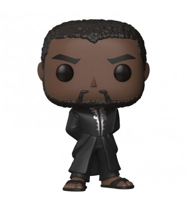 T'CHALLA ROBE NOIRE / BLACK PANTHER / FIGURINE FUNKO POP