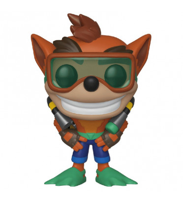 CRASH BANDICOOT AVEC SCUBA GEAR / CRASH BANDICOOT / FIGURINE FUNKO POP